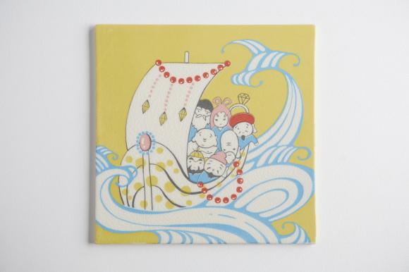 シルクスクリーン陶画を展示・販売します♪2/5(金)〜17(水)代官山ギャラリースピークフォーCHOICES FOR GIFTS5_d0339885_19370849.jpg