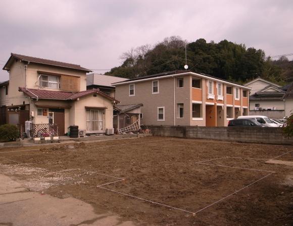 奈良津の家 解体完了_f0341886_18312296.jpg
