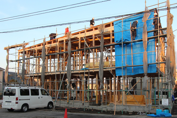 H house 建て方_c0196892_20330828.jpg
