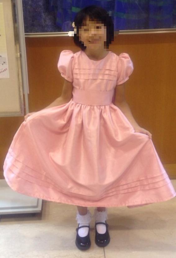 洋裁教室   発表会のドレスは晴れやに愛らしく_d0318597_12461112.jpg