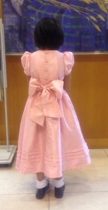 洋裁教室   発表会のドレスは晴れやに愛らしく_d0318597_12462699.jpg