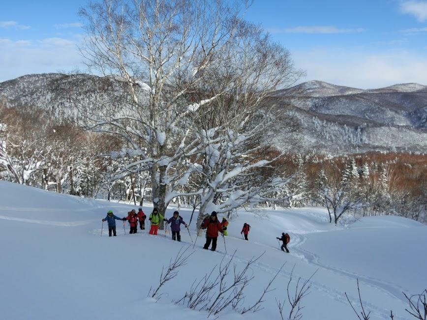 2016年1月23日札幌国際スキー場に近い白井岳支尾根の山を滑る_c0242406_10424192.jpg