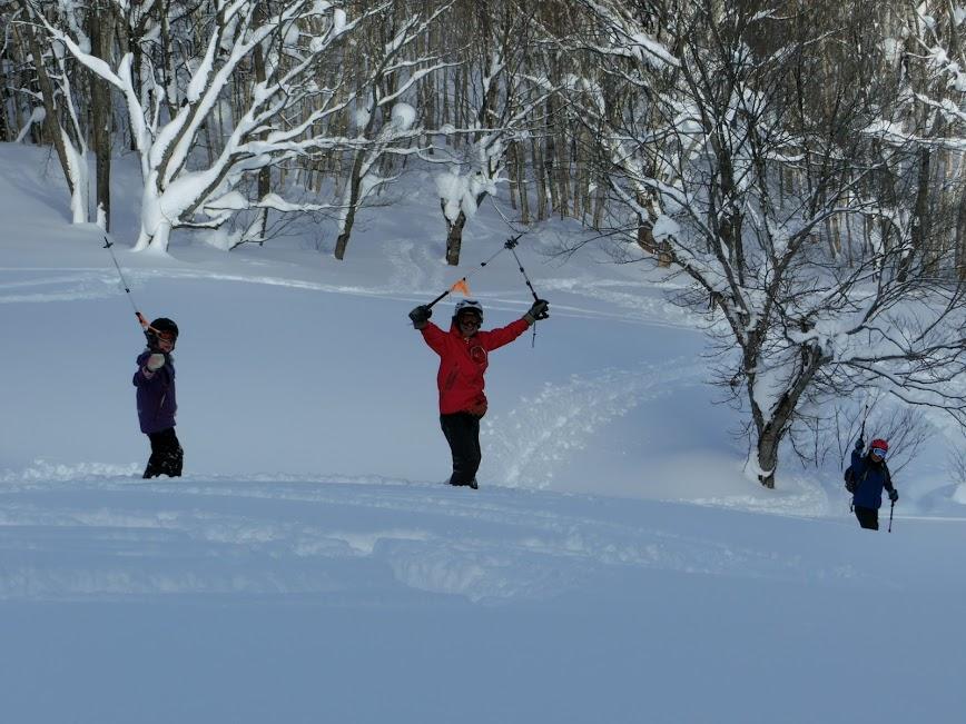 2016年1月23日札幌国際スキー場に近い白井岳支尾根の山を滑る_c0242406_10435098.jpg