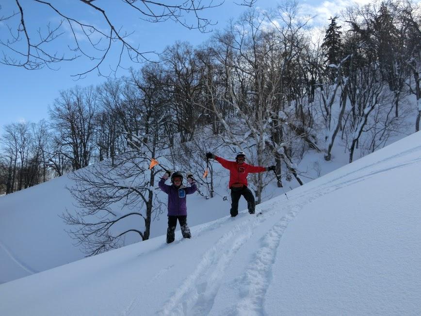 2016年1月23日札幌国際スキー場に近い白井岳支尾根の山を滑る_c0242406_1046287.jpg