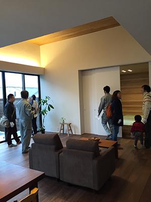 「松戸の家」完成見学会を行いました_f0170331_14102766.jpg