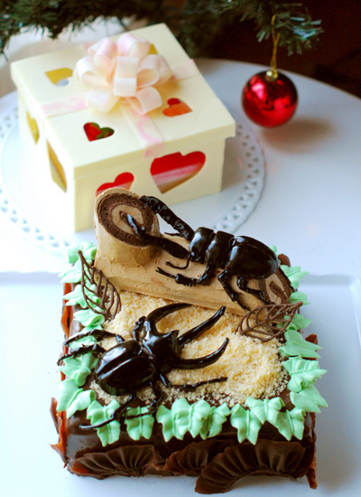 次男6歳の誕生日ケーキ_c0169657_00375637.jpg