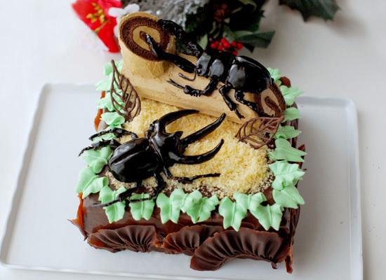 次男6歳の誕生日ケーキ_c0169657_00380959.jpg