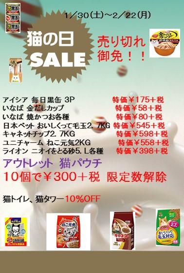 160202 猫の日セール_e0181866_15485858.jpg