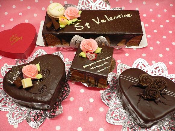 バレンタインケーキ♪_c0197734_1344895.jpg