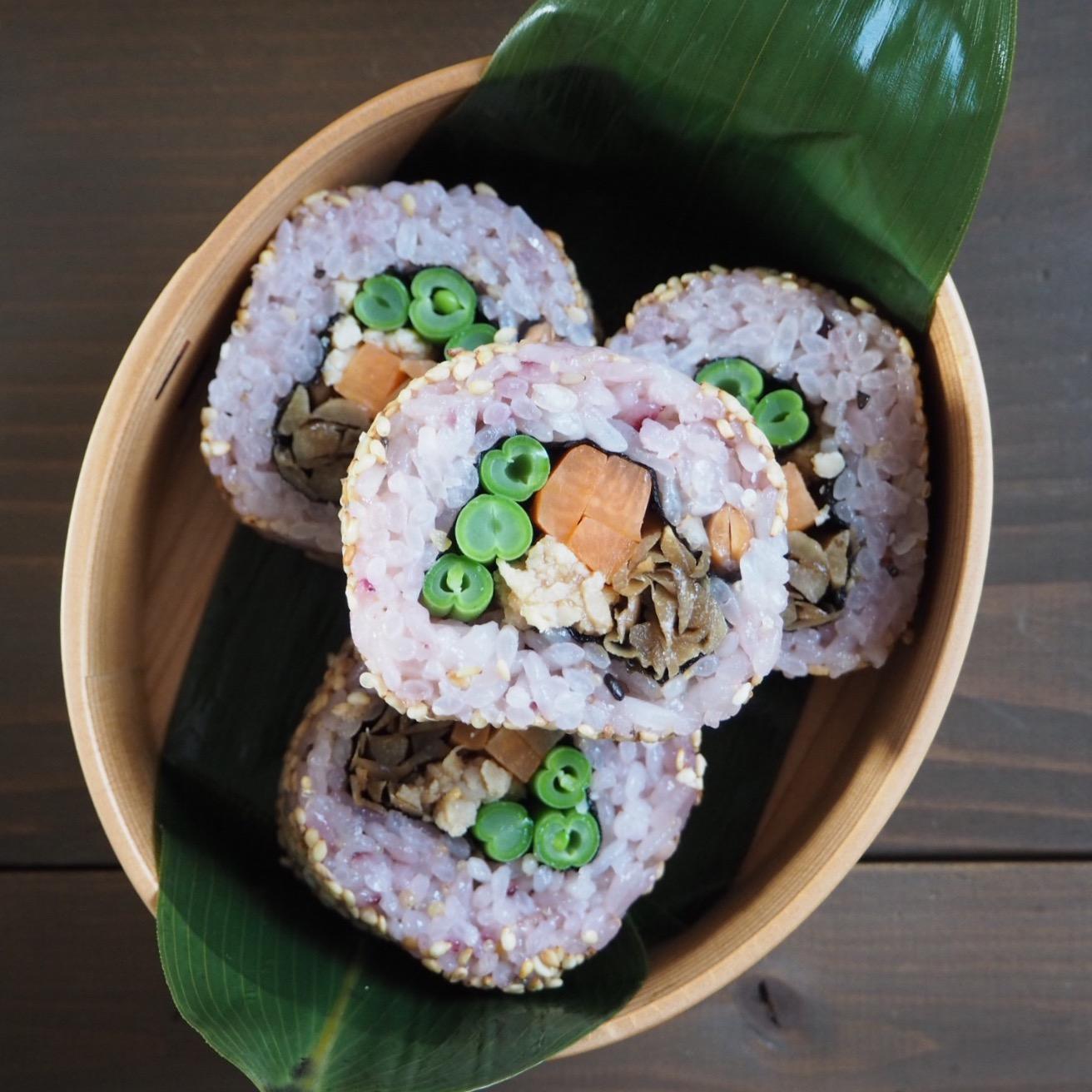 裏巻き寿司の恵方巻き弁当_c0270834_7555939.jpg