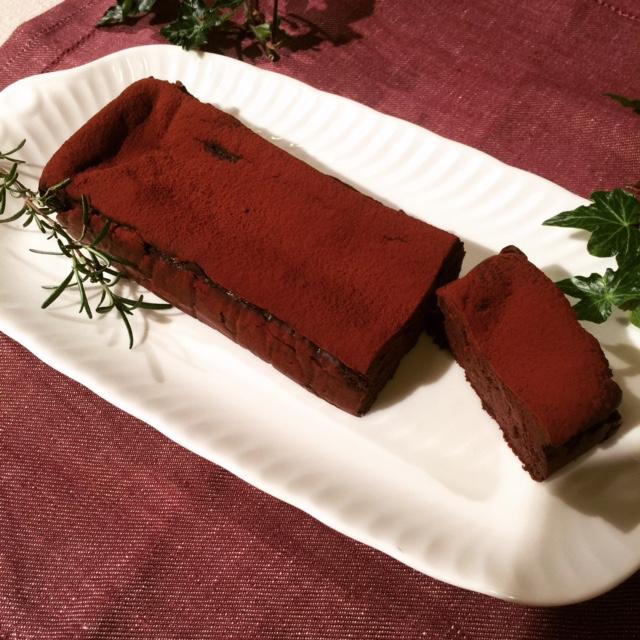豆腐のガトーショコラ レシピ_e0045565_23272695.jpg