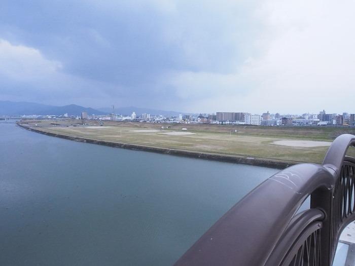 筑後川と「にせんねんばし」と渡り鳥_a0149488_742553.jpg