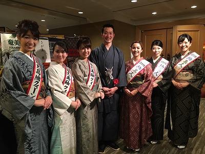 2016大島紬と鹿児島の食を楽しむ夕べ御報告/友原_c0315907_1653389.jpg