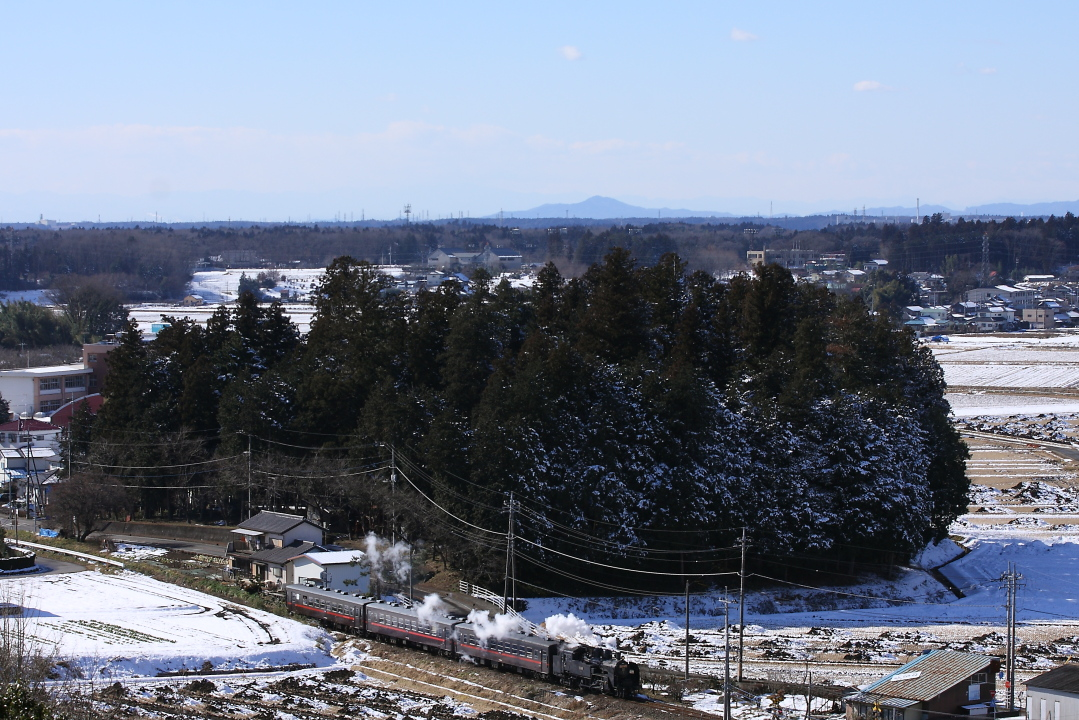 日射しで雪が融けていった日 - 2016年冬・真岡 -   _b0190710_23104475.jpg