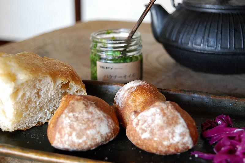パクチーオイル パン レシピ