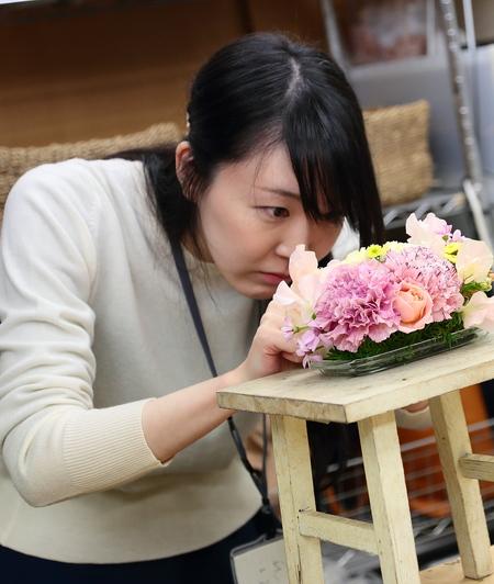一会花嫁会 先輩花嫁からプレ花嫁へ、結婚式の花の困難を乗り越える、本音トークのアドバイス_a0042928_21184855.jpg