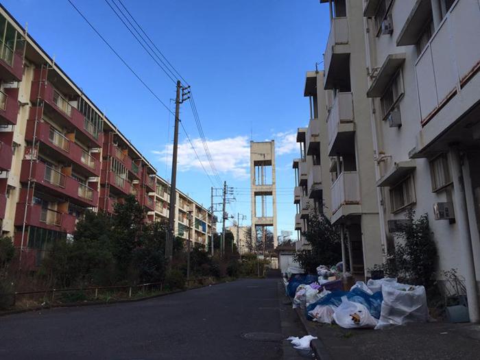 都営霞ヶ丘アパート / iPhone 6_c0334533_00515509.jpg