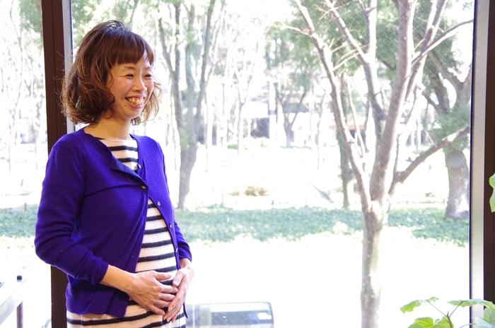 かわいい妊婦さん❤_a0272765_1605639.jpg