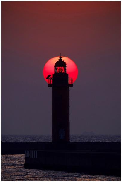 中島埠頭の夕陽_d0272207_21292444.jpg