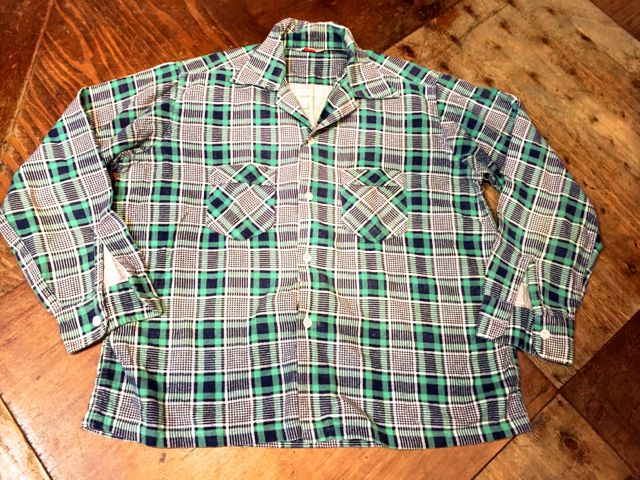 2/6(土)入荷!50's Pilgrim プリントネルシャツ!_c0144020_1462511.jpg
