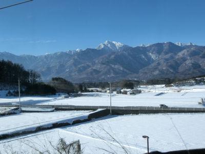 甲斐駒冬景色_f0019247_1756285.jpg