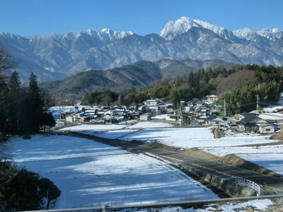 甲斐駒冬景色_f0019247_17573215.jpg