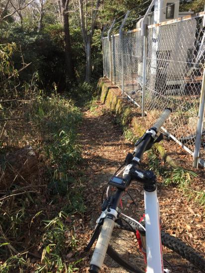 3年振りのマウンテンバイク。眉山縦走路。_f0053665_12320083.jpg
