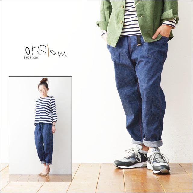 orslow[オアスロウ] UNISEX CLIBMING PANTS DENIM [03-7005-81] MEN\'S/LADY\'S_f0051306_21555679.jpg