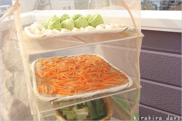 ポイントを押さえればOK!干し野菜は誰でも簡単に作れる保存食。
