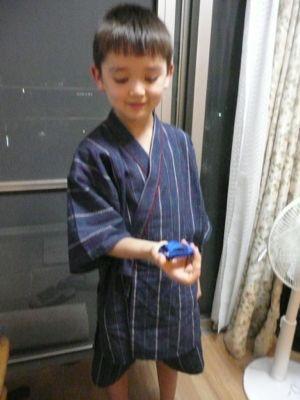 健志来日アルバム 8歳編_a0050728_22365631.jpg