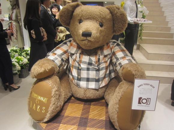 DAKS 銀座店 Opening レセプション♪_d0339889_21414351.jpg