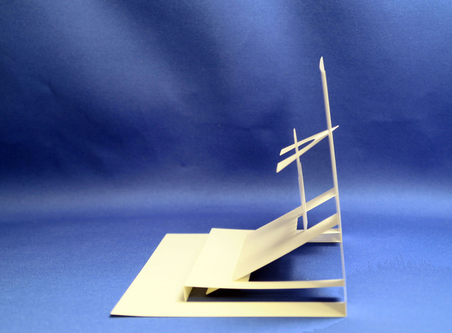 ハート 折り紙:折り紙建築 作り方-arigozira.exblog.jp