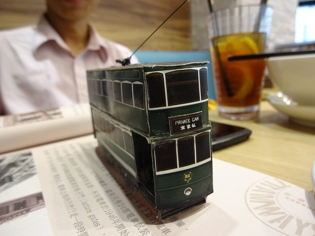 香港トラムの達人 ジョセフさんにお会いしました _b0248150_08300985.jpg