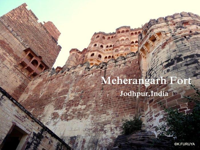 インド・ラジャスタンの旅 5  メヘラーンガル砦  その1_a0092659_13355358.jpg