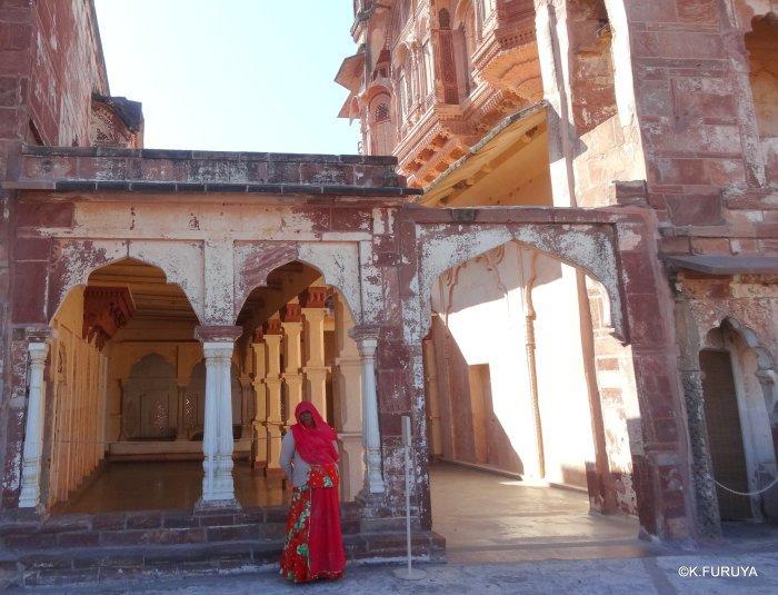 インド・ラジャスタンの旅 5  メヘラーンガル砦  その1_a0092659_13564507.jpg
