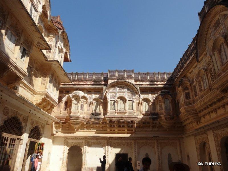 インド・ラジャスタンの旅 5  メヘラーンガル砦  その1_a0092659_16460115.jpg