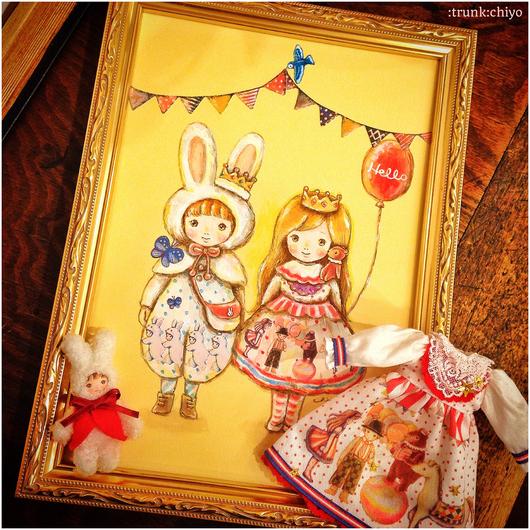 """展示2/20-3/10\""""chiyoの小さなお人形たち\""""@渋谷パルコLeLeJunieMoon_f0223074_22214938.jpg"""