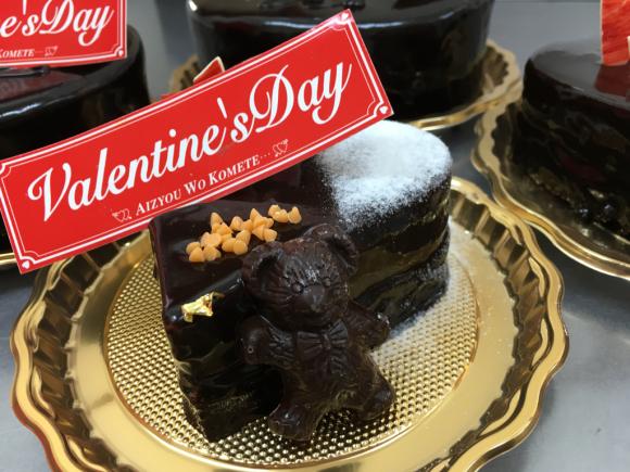 あま〜いチョコケーキも人気_b0332209_17332745.jpg