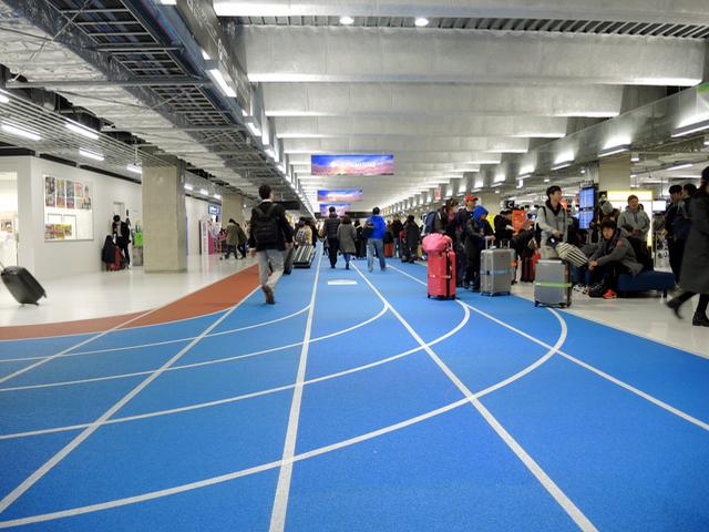成田空港第3ターミナルと Neue Frutiger_e0175918_5211017.jpg