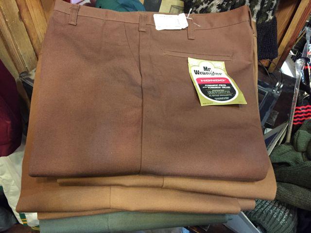 デッドストック!60s~Mr. Wrangler all cotton IVY  pants !!_c0144020_14175934.jpg