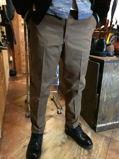 デッドストック!60s~Mr. Wrangler all cotton IVY  pants !!_c0144020_14184843.jpg
