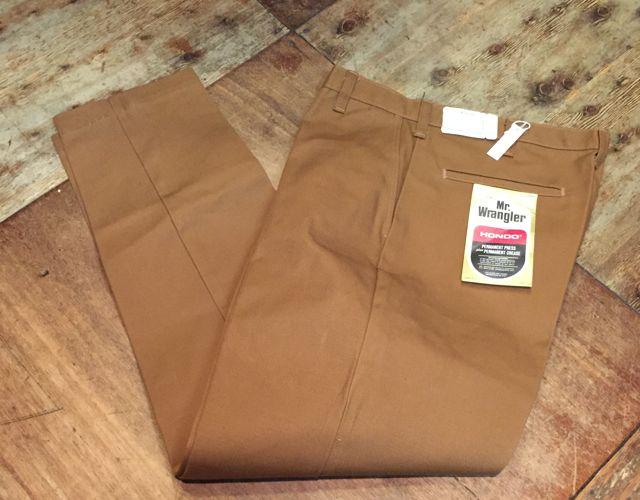 デッドストック!60s~Mr. Wrangler all cotton IVY  pants !!_c0144020_1512328.jpg