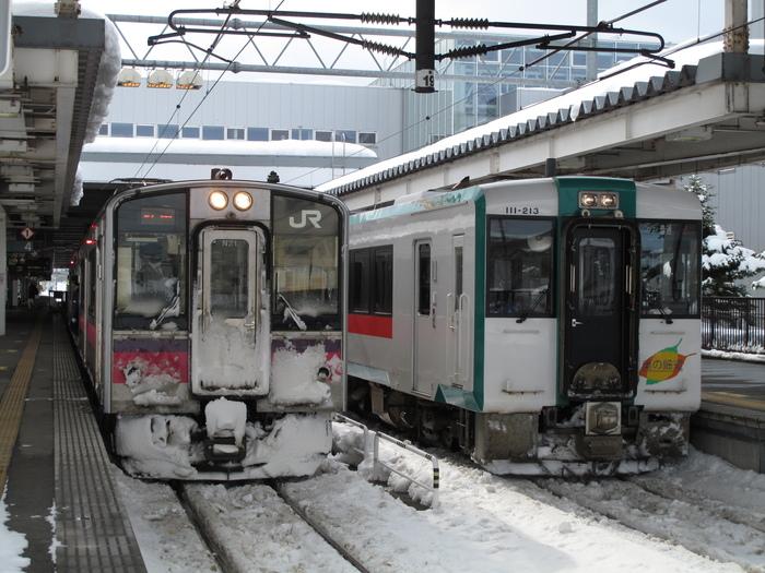 列車で冬の東北 温泉旅 ( 2日目 )_d0150720_17592297.jpg