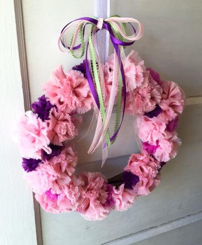 Carnation Wreath カーネーション リース_c0196240_11305742.jpg