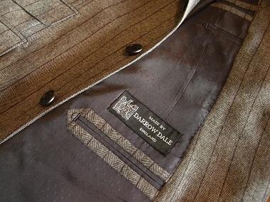 「DARROW DALE」de 料理した男たちのスーツ 「Sartoria iwate」編_c0177259_16554354.jpg