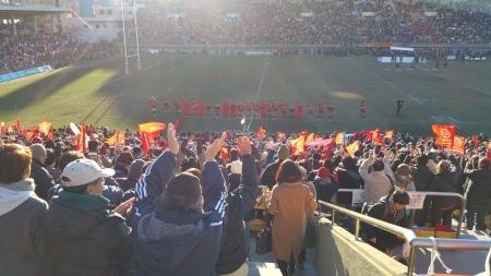 ジャパンラグビートップリーグ観戦!_c0193896_15003039.jpg