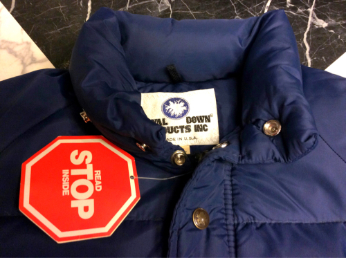 「 Blue. 最新号 & D.STOCK DOWN JKT 」_c0078333_16225256.jpg