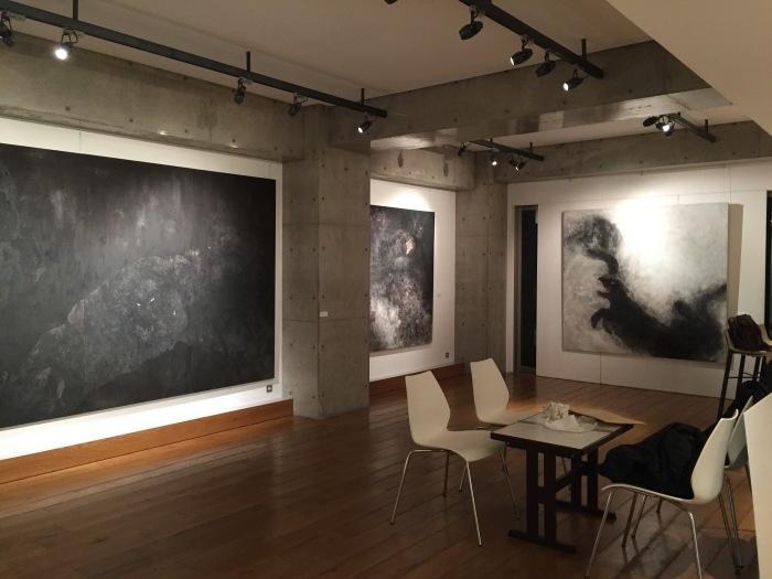 米田 実 日本画展 -豹憑-  _e0255740_01540635.jpg