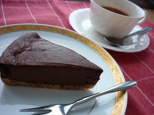 豆乳ココアチーズケーキ_e0355953_16352433.jpg