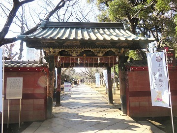上野東照宮の水舎門_c0187004_09240629.jpg